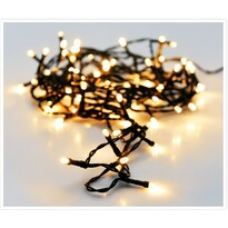 Světelný vánoční řetěz Twinkle teplá bílá, 120 LED