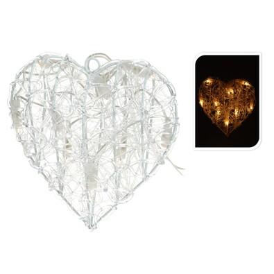 Svitící srdce