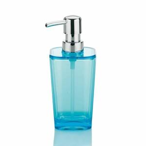 Kela Dávkovač mýdla Kristall modrá, 350 ml