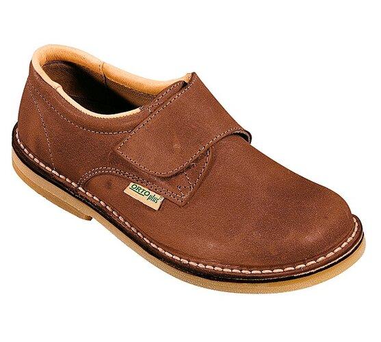 Dámska vychádzková obuv Orto Plus, hnedá, 39
