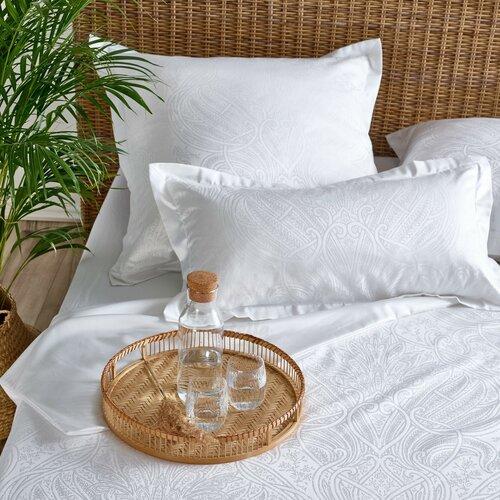 Stella Ateliers Reena damaszt ágynemű, fehér, 140 x 200 cm, 70 x 90 cm