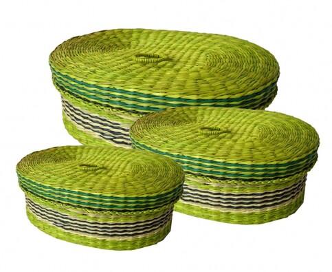 Dóza morská tráva 3 ks, zelená