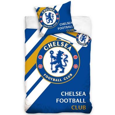 Pościel bawełniana FC Chelsea, 160 x 200 cm, 70 x 80 cm