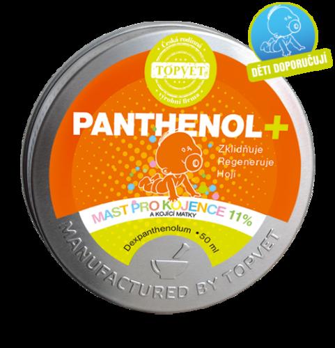 Topvet Panthenol mast pro kojence 11 %, 50 ml
