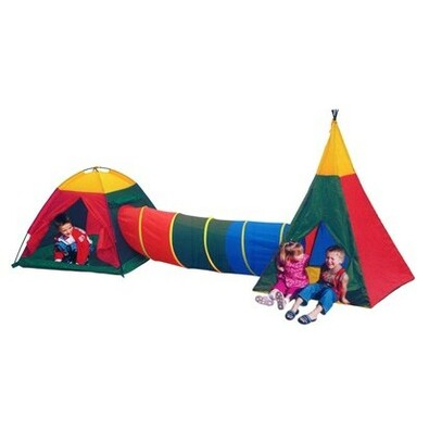 Fantasie detský stanový set viacfarebný