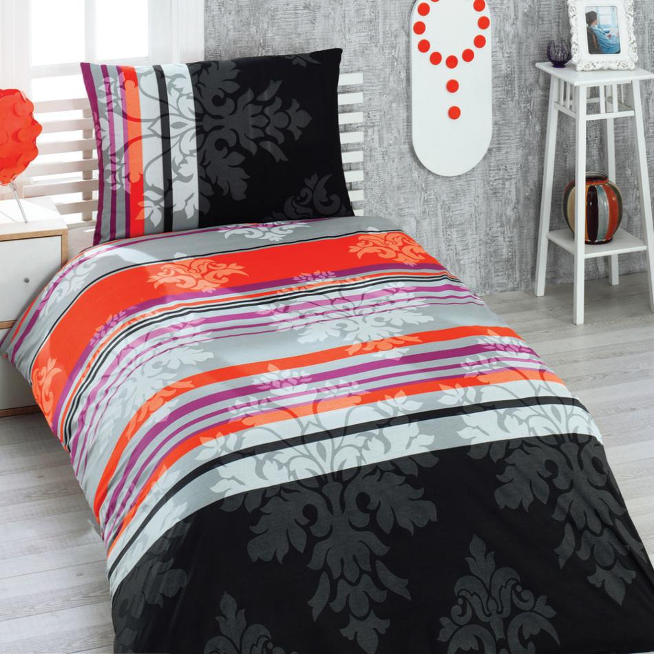 Night in Colours Bavlnené obliečky Anemon, 140 x 200 cm, 70 x 90 cm