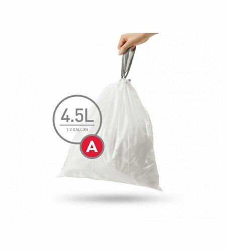 Simplehuman Vrecia do odpadkového koša A 4,5 l, 90 ks