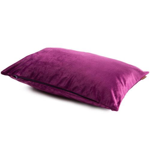 Domarex Povlak na polštář Velvet fialová, 30 x 50 cm