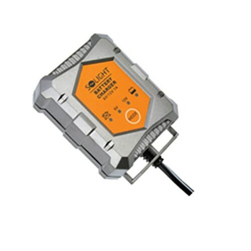 Solight Nabíjačka autobaterií 6/12V plug-in sivá