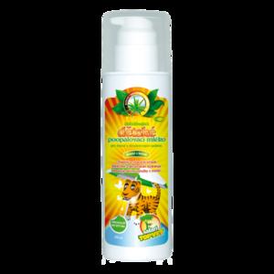 Topvet Dětské mléko po opalování, 200 ml