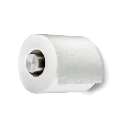 Držák toaletního papíru 12 cm, nerez