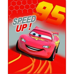 CTI Dětská deka Cars Go Go Go, 110 x 140 cm