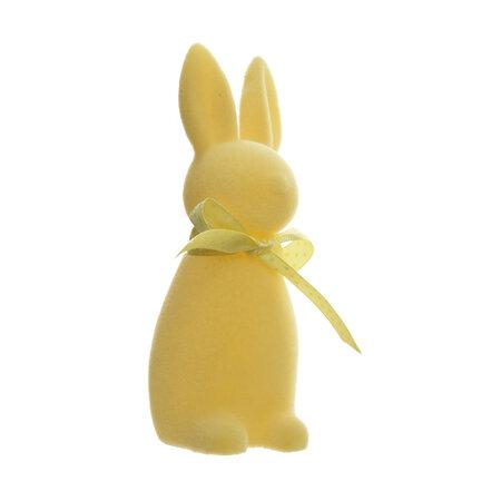 Velikonoční zajíček světle žlutá, 15 cm