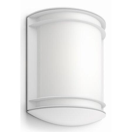 Philips 17320/31/P3 Antelope Venkovní nástěnné LED svítidlo 28 cm, bílá