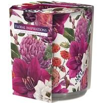 Świeczka zapachowa w szkle Floral inspirations 100 g, 8 cm