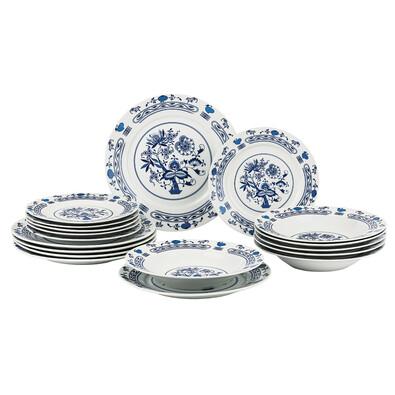 Banquet Onion 18-częściowy zestaw talerzy