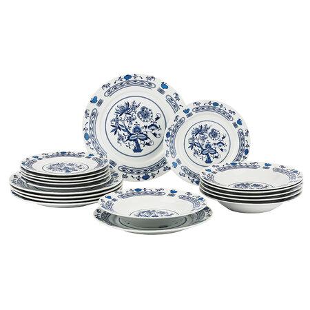 Banquet Onion 18 részes tányérkészlet