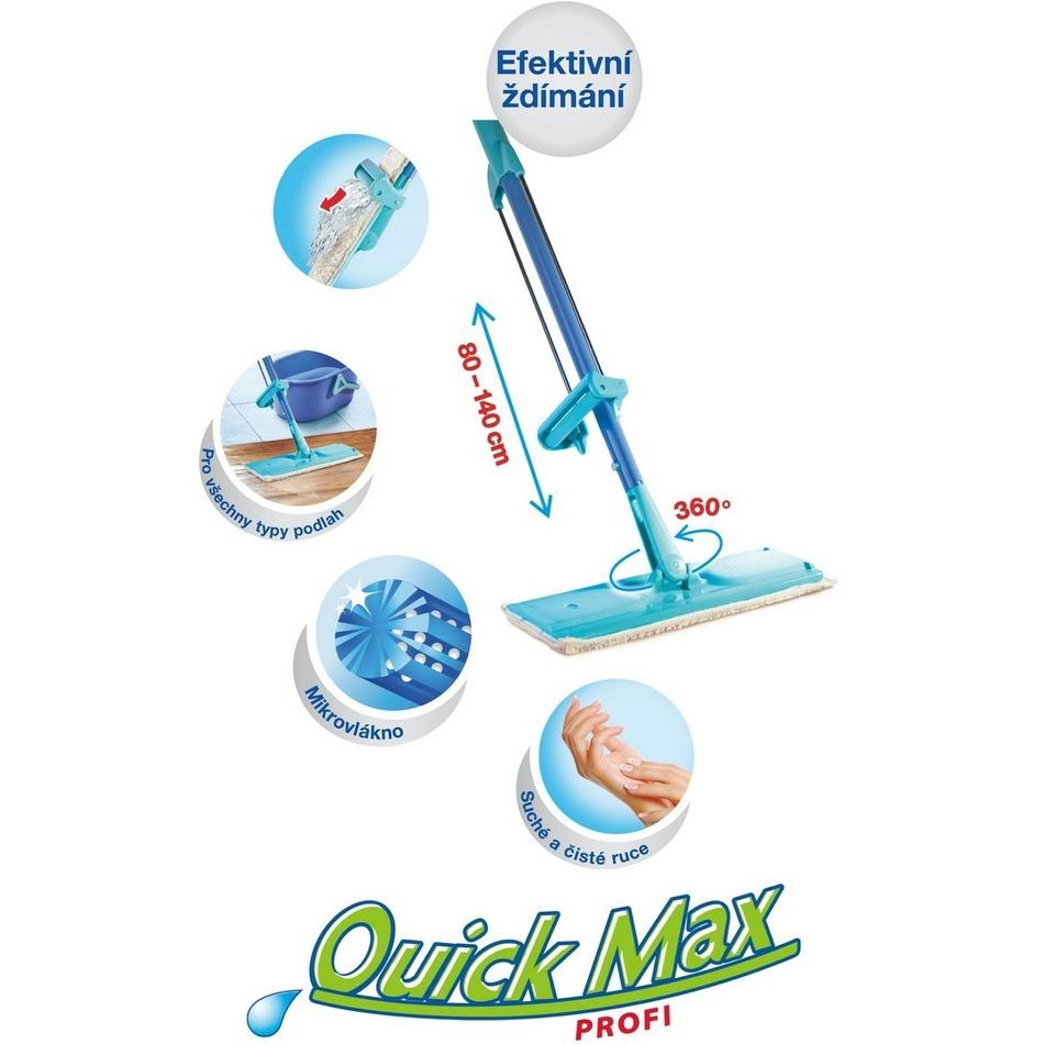 Spontex Quickmax Profi mop se samoždímacím systémom