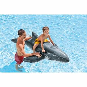 Intex Nafukovací velryba, šedá