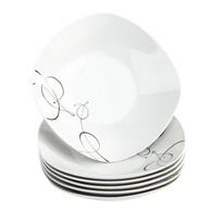 Domestic Sada hlubokých talířů Chanson, 21,5 cm, 6 ks