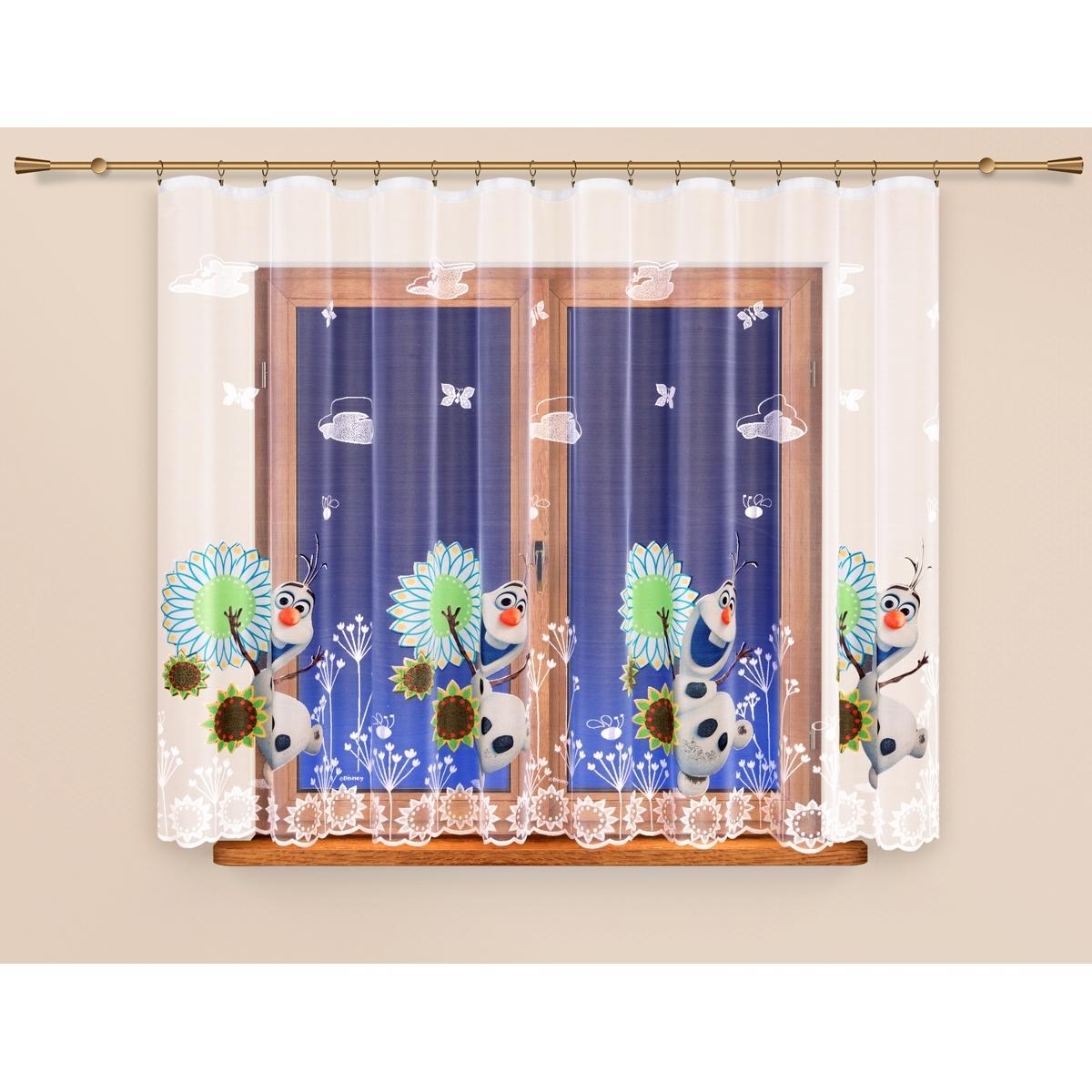 4Home Záclona Ledové království Frozen, 320 x 160 cm