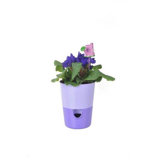Plastia Samozavlažovací květináč Rosmarin, fialová