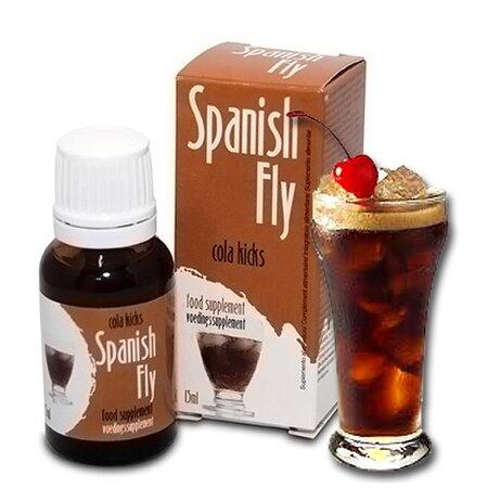 Španělské mušky Coca Cola, 15 ml