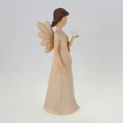Anděl s holubičkou