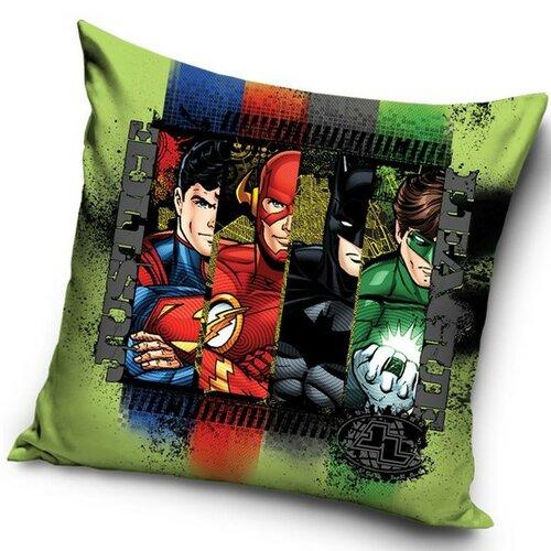TipTrade Polštářek Justice League Komiks, 40 x 40 cm