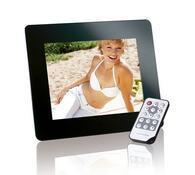 Digitální fotorámeček Intenso LCD 8'' PhotoBase, černá, 20, 32 cm