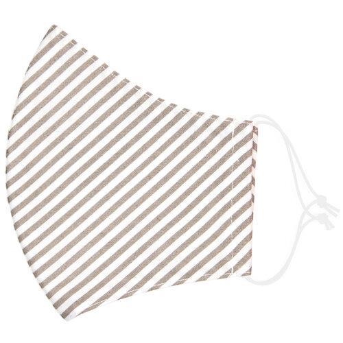 Stripe medium pamut szájmaszk