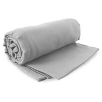 Prosop Fitness DecoKing Ekea, argintiu, 40 x 80 cm
