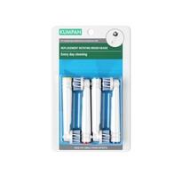 Kumpan Náhradné hlavice pre rotačné kefky vhodné pre kažodenné čistenie, 4 ks