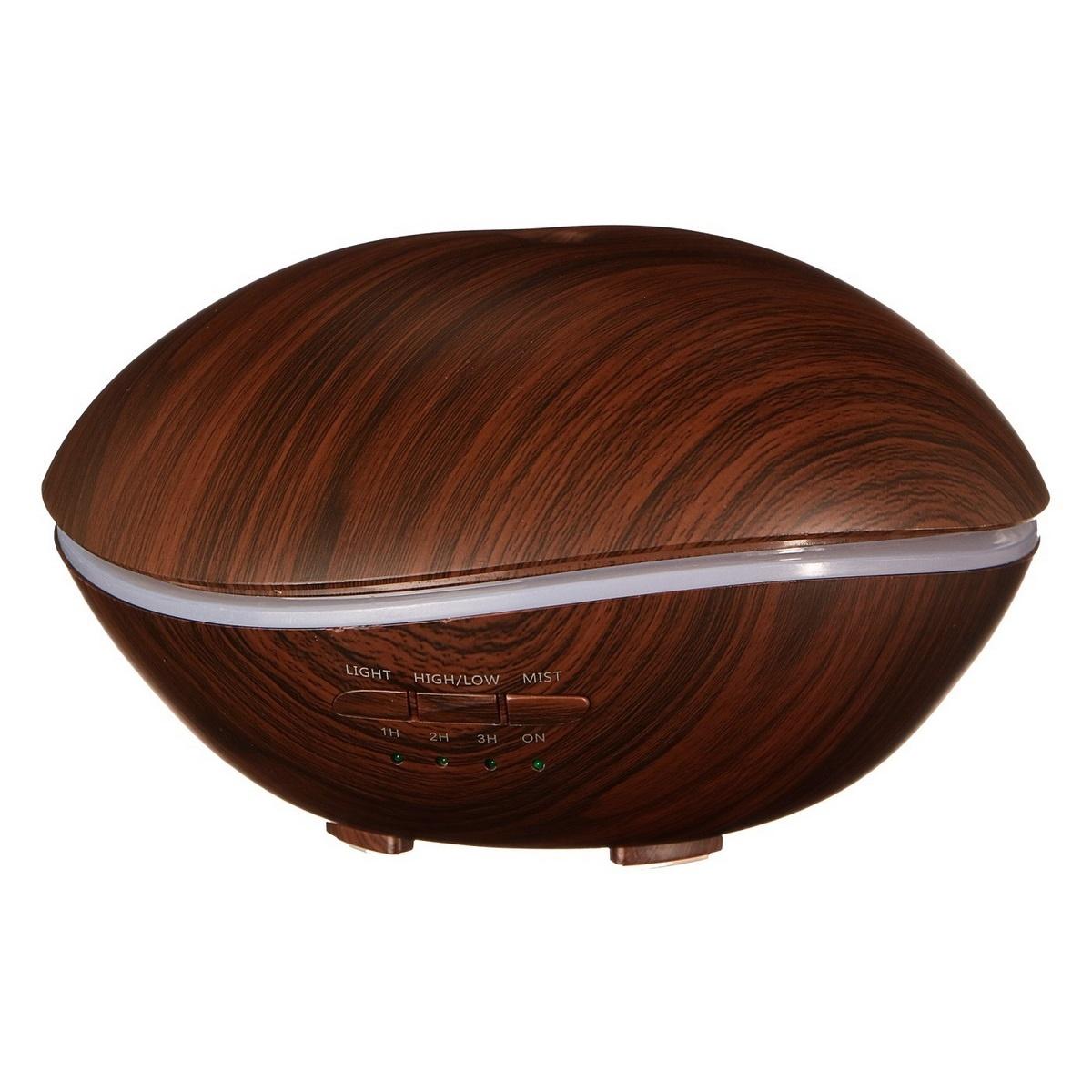 Sixtol Aróma difuzér Stone tmavé drevo, 500 ml