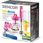 Sencor SHB 4368RS mixér ponorný růžová