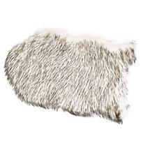 Kožušina Claire čiernobiela, 60 x 90 cm