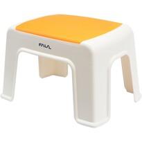 Scăunel plastic Fala 30 x 20 x 21 cm, portocaliu