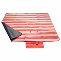 Cattara mata piknikowa Fleece czerwony, 150 x 135 cm