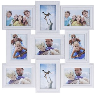 Fotorámeček Ricordi na 9 fotografií, 52 x 52 cm