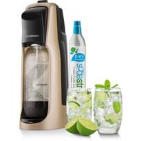 SodaStream Jet Premium Výrobník perlivej vody, zlaá