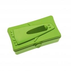 Koziol Ping Pong Box na vreckovky 25,4 x 14,3 x 9,6 cm zelená