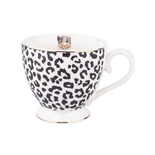 Altom Porcelánová jumbo sada 430 ml, Leopard