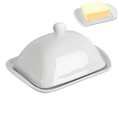 Dóza na máslo porcelán 19 x 13,5 x 10 cm
