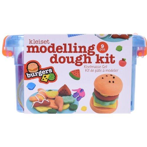 Dětský modelovací set Hamburger