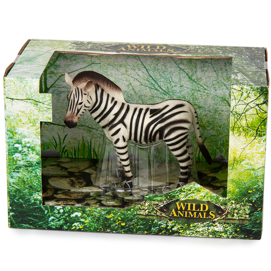Zebra čiernobiela, 13 cm