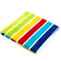 Candy Stripes strandtörölköző, 90 x 160 cm