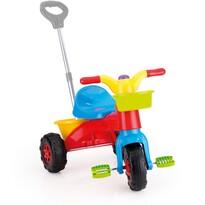 Tricicletă cu mâner Dolu