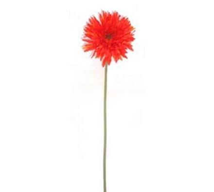 Umělá květina gerbera 3 ks oranžová