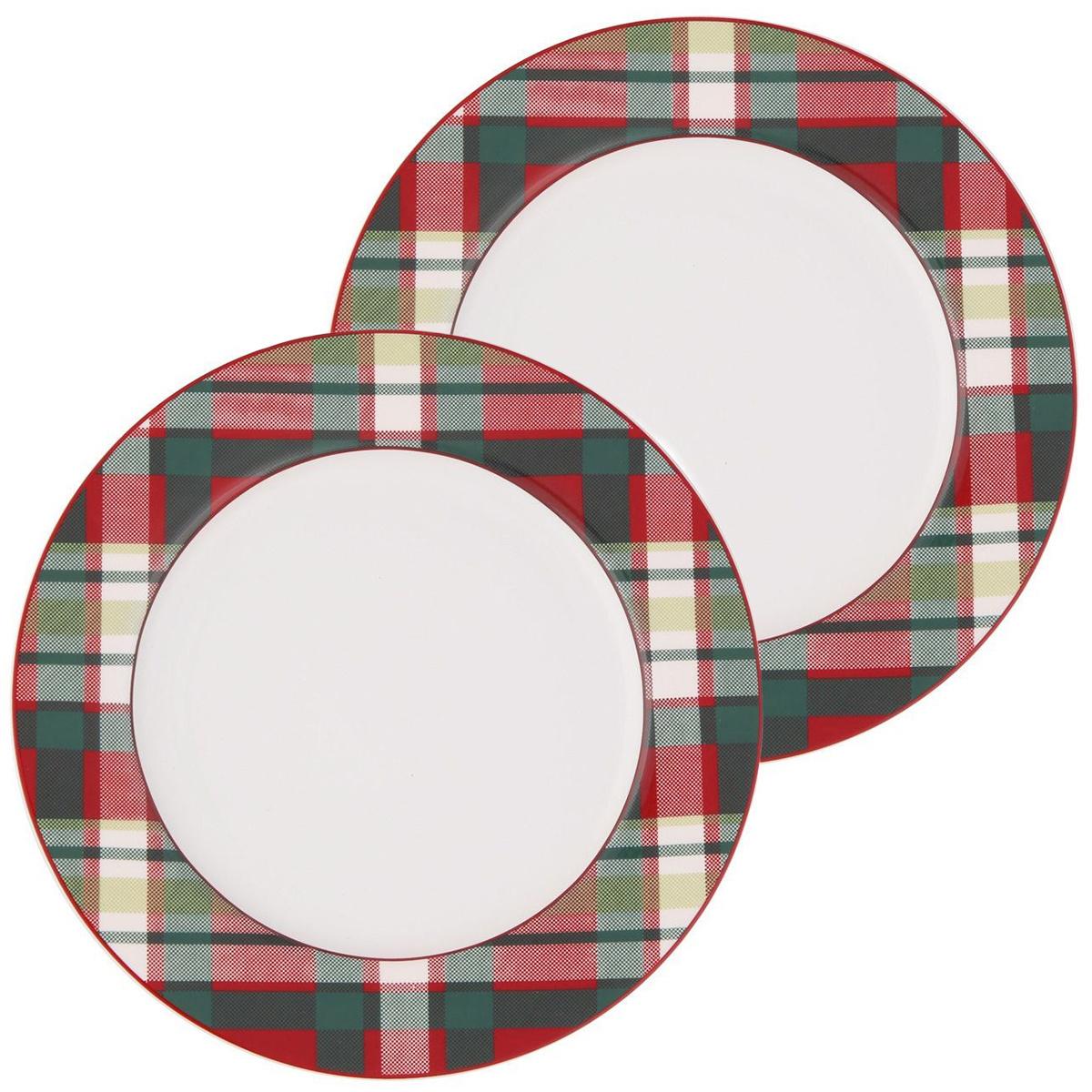 Altom Porcelánový tanier Victoria Red Deer 19 cm, 2 ks