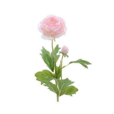 Umelý ranunculus ružová, 57 cm
